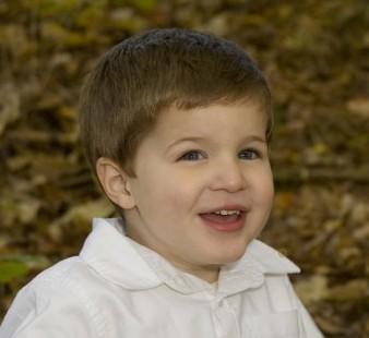 This is Jack's preschool picture.